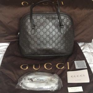 Gucci Guccissima Mini Dome Crossbody Bag